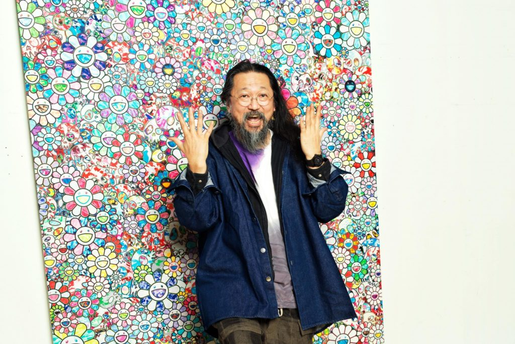 TAKASHI MURAKAMI ALL BLACK