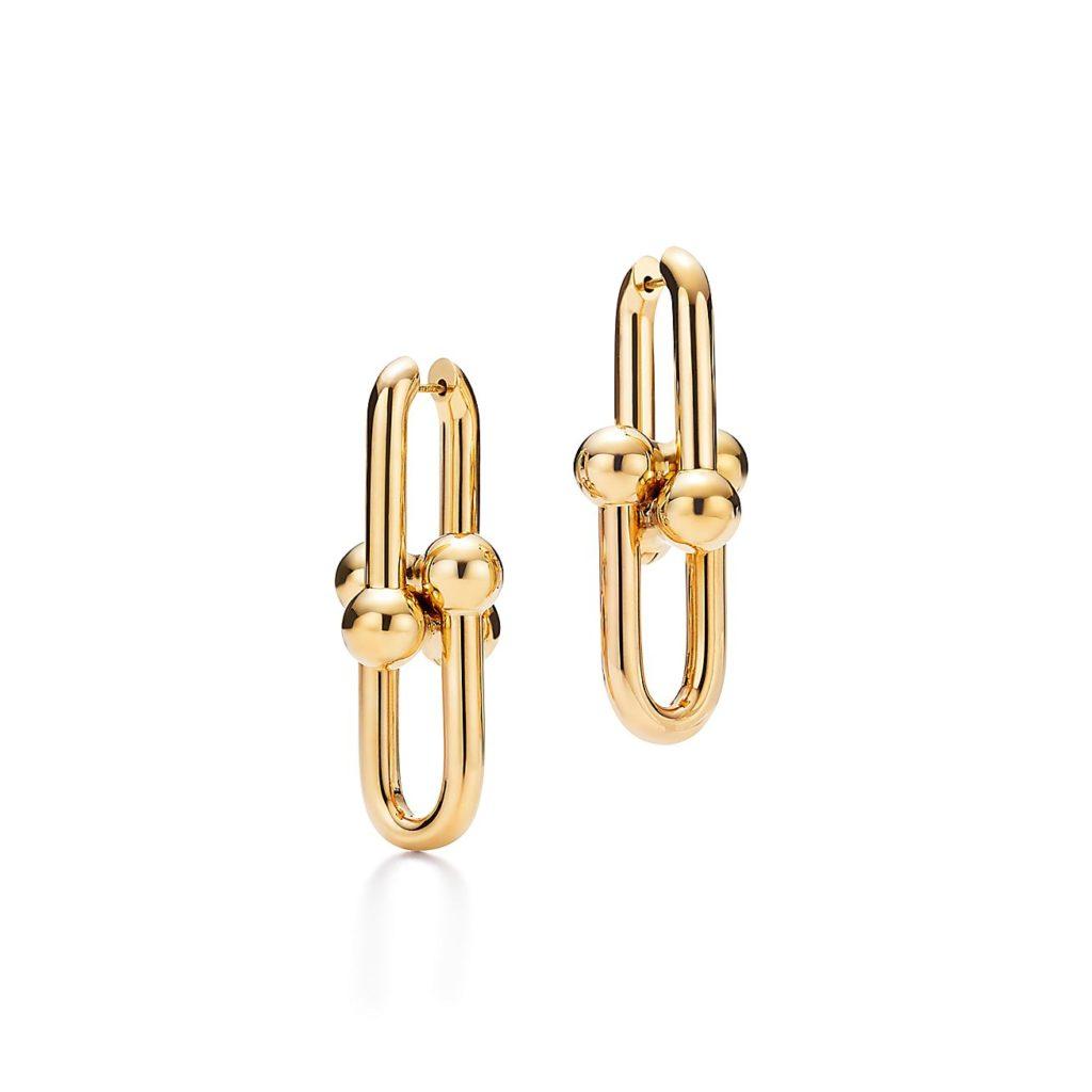 Tiffany&Co. Link Earrings in 18k gold