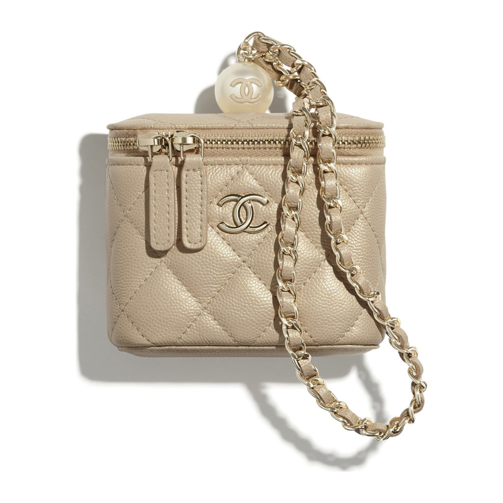 Chanel Small Vanity With Chain